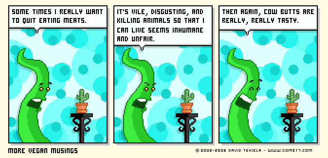 More Vegan Musings